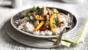 Healthy chicken stir fry with cashews