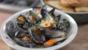 Lemongrass and ginger mussels