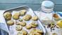 Mini three-way biscuits