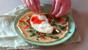 Spicy brunch egg pancake
