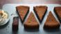 Sunken chocolate amaretto cake