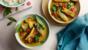 Thai aubergine curry