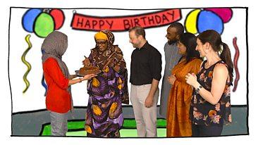 Learning Circle 12 Cake