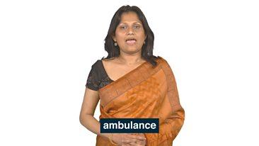 Learning Circle 7 Ambulance words