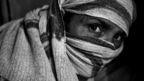 Woman sanitation worker