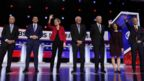 Democrats face off onstage