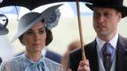"Britain""s Catherine, Duchess of Cambridge and Prince William, Duke of Cambridge at Ascot"