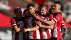 Che Adams and Southampton celebrate