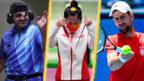 Javad Foroughi, Yang Qian, Novak Djokovic