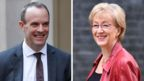 Dominic Raab and Andrea Leadsom