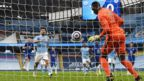 Sergio Aguero's penalty is saved by Chelsea goalkeeper Edouard Mendy
