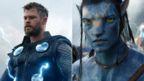 Chris Hemsworth in Avengers: Endgame and Sam Worthington in Avatar