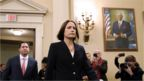 Fiona Hill arrives at hearing
