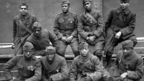 These WWI soldiers returned to France in 191 to receive the Croix de Guerre medal