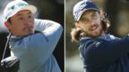Li Haotong (left) and Tommy Fleetwood (right)