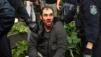 Australian detained during anti-lockdown protest in Sydney