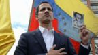 """Venezuela""""s National Assembly head Juan Guaido declares himself the country""""s """"acting president"""""""