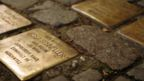 Stolpersteine are commemorative plaques honouring victims of the Holocaust