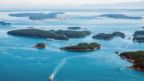 Canada's Gulf Islands are scattered between Vancouver and Southern Vancouver Island