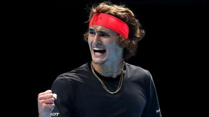 ATP Finals: Zverev leads Djokovic by a set and a break - watch & listen